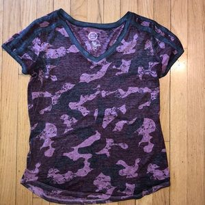 Maurices camo top
